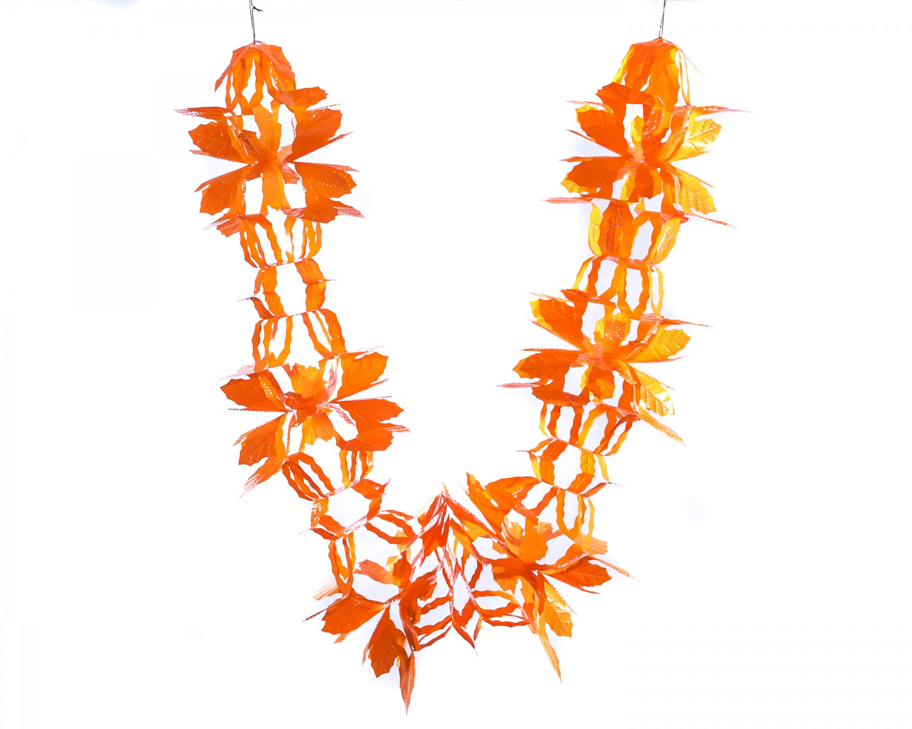Pull out garland - orange